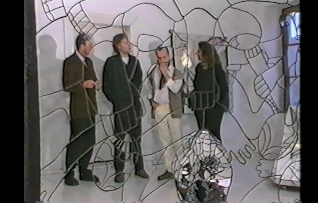 eigene, erste Produzentengalerie in Vilshofen, ca. 1988